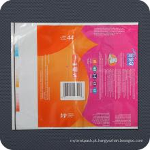Saco de Embalagem de Higiene Pessoal Premium em Plástico PE