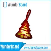 2016 venda quente sublimação impressão em Metal ornament