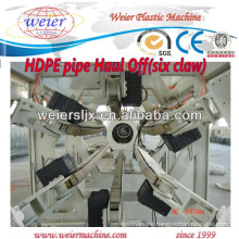 plastic HDPE PE PP PPR pipe extruding machinery