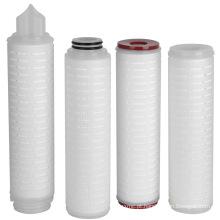 10 polegadas, 20 polegadas 40 polegadas polipropileno / PP plissado filtro de água cartucho