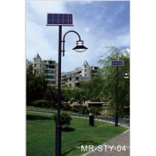 12W LED Solar Gartenleuchte