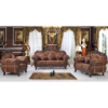 Sofá de madeira para mobília da sala de estar (929A)