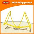Campo de jogo de metal ao ar livre Playground para crianças
