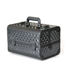 Popular aluminum cosmetic case cosmetics train case