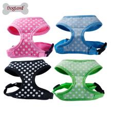 Mode-nette Tupfen-Entwurfs-weicher Haustier-Harness Dog Walking Harness