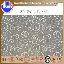 Panel de pared de PVC 3D de impacto