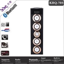 Stützen Sie den USB-Fahrer bluetooth Lautsprecher, der im Porzellan mit LED-Discolicht gemacht wird