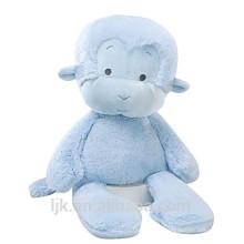 Diseño personalizado de peluche mono mono azul