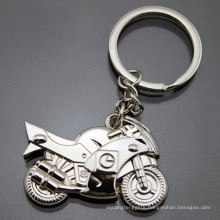 Metal 3D Customized Imprint Logo Engrave Promotional Motorcycle Keychain (F1366)