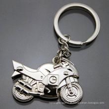 O metal 3D personalizou o logotipo da impressão gravar Keychain relativo à promoção da motocicleta (F1366)
