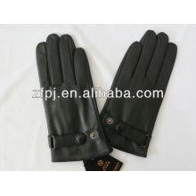 El hombre de invierno proteger la mano de piel de oveja de cuero guante de cuero