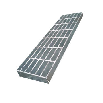 Welded Plain Type Serrated Hot DIP Galvanizing Steel Bar Grating for Stair Tread