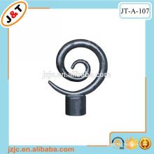 painting black flexible 16mm/19mm/22mm/25mm/28mm metal curtain rod set