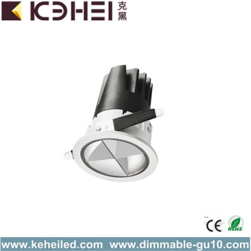 7W COB 3000K LED Spotlight iluminación de lavado de pared