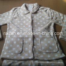Случайные и удобные мягкие теплый халат домашней одежды