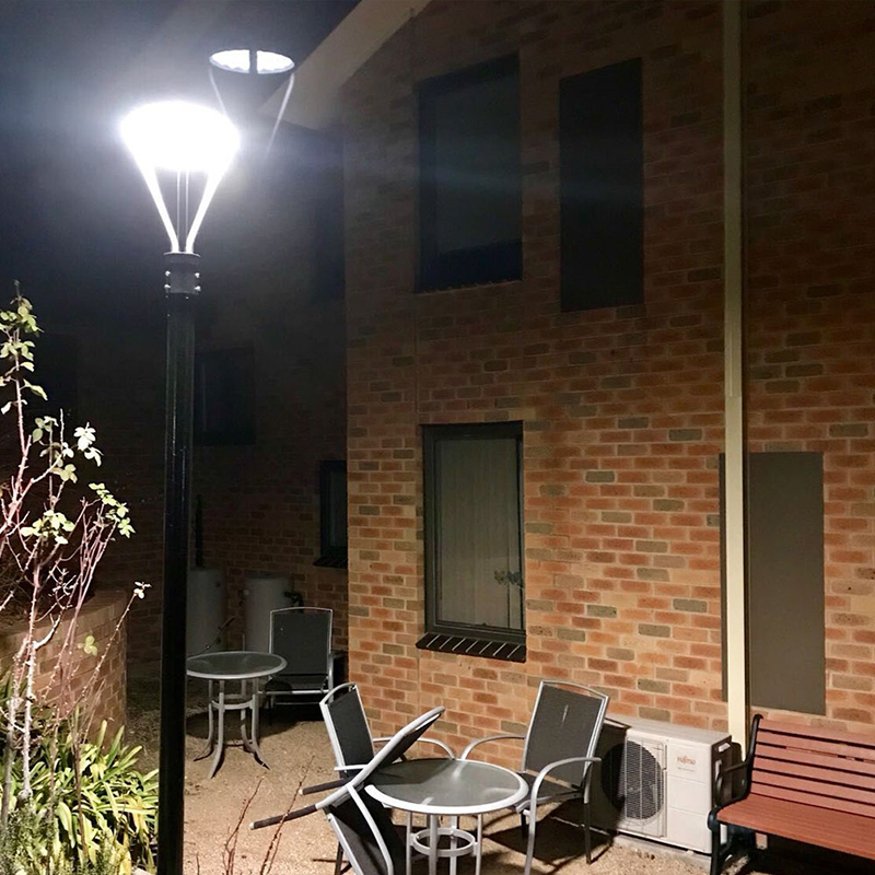 Led Lamp Post Fixtures (2)