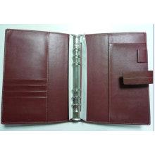 Leder Organizer, Ordner (LD0021) Tagebuch Cover