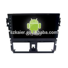 Android 4.4 Spiegel-Link Glonass / GPS 1080P Dual-Core-Auto-Navigationssystem für Toyota 2014 VIOS mit GPS / Bluetooth / TV / 3G