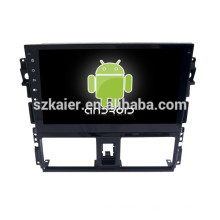 Android 4.4 Miroir-lien Glonass / GPS 1080p double noyau système de navigation de voiture pour Toyota 2014 VIOS avec GPS / Bluetooth / TV / 3G
