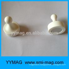 Pin pin pin colorful custom plastic magnet