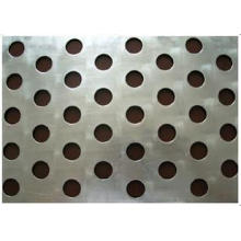 Round Hole Perforated Metal Aluminum Plate