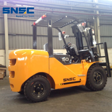 Empilhadeira 5Tons Fork Lifter Equipment Truck