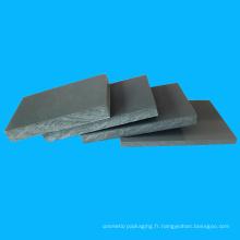 Feuille transparente de PVC d'épaisseur de 4.5mm pour la publicité