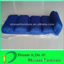 fashionable blue floor recliner chair