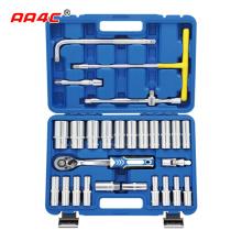 AA4C 28pcs  auto repair tool kit  shelf hardware hand tools workbench tools  A1-X02801