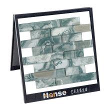 Moroccan House Sea Green Glass Mosaic Subway Tile Backsplash
