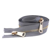 Eco-Friendly Metal Gold Zipper Handbag Zippers With Lock Slider