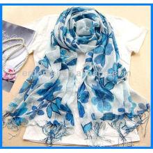 Печатная лента Собственный дизайнерский шарф в Китае