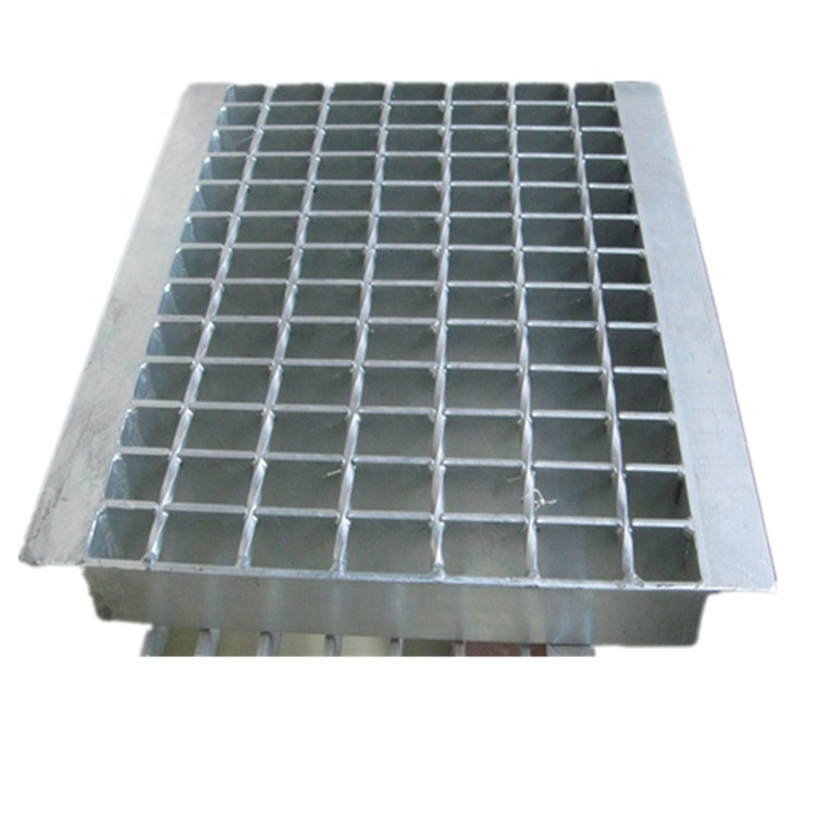 Outdoor Parking Lot Galvanized Steel Drain Grating Cover