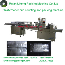 Lh-450 Double-Row Disposable Plastic Cup Counting and Packaging Machine
