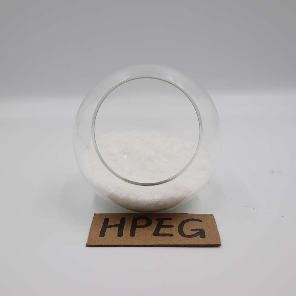 Hpeg Superplasticizer Types