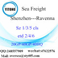 Shenzhen Port Sea Freight Shipping à Ravenna