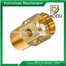 Heißer Verkauf geschmiedet npt hydraulischen pneumatischen Gewinde Messing drehen Teile