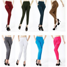 Fashion Women High Waist Colorful Harem Pants Sr8228