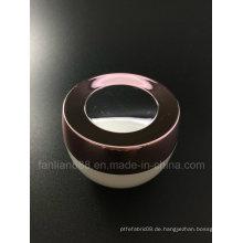 Schüssel Form Acryl Creme Gläser für kosmetische Verpackungen