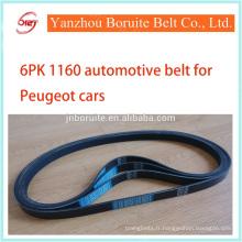6PK 1160 courroie de ventilateur pour CITROEN/PEUGEOT voiture