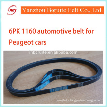 6PK 1160 fan belt for CITROEN/PEUGEOT Car