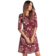 Fashion Adults Age Group and Dress Type Beach Cover Up floral beach Casual Dresses