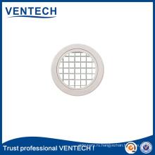 Горячие продажи систем отопления, вентиляции и кондиционирования воздуха алюминиевой круглой решеткой для яиц