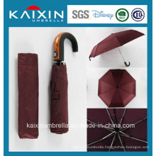 Customized Cheap Price Red Color Folding Umbrella