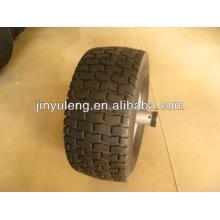 13 x 500-6, 15x6.00-6, 18 x 650-8 neumático de goma, ruedas para mover de césped, carretilla eléctrica, trailer
