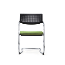 Office Training Furniture Fabric Visitor Chair Without Armrest