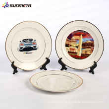 hot selling factory direct sublimation ceramic plate printing