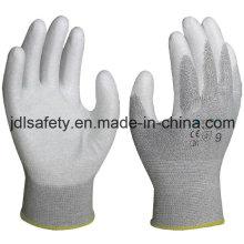 Углеродного волокна анти - сократить работу перчатка (PC8101)