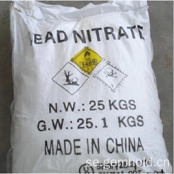 Högkvalitets Minging Chemical Lead Nitrate