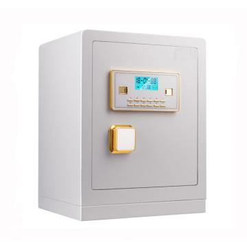 coffre-fort à mot de passe numérique avec coffre-fort blanc à clé